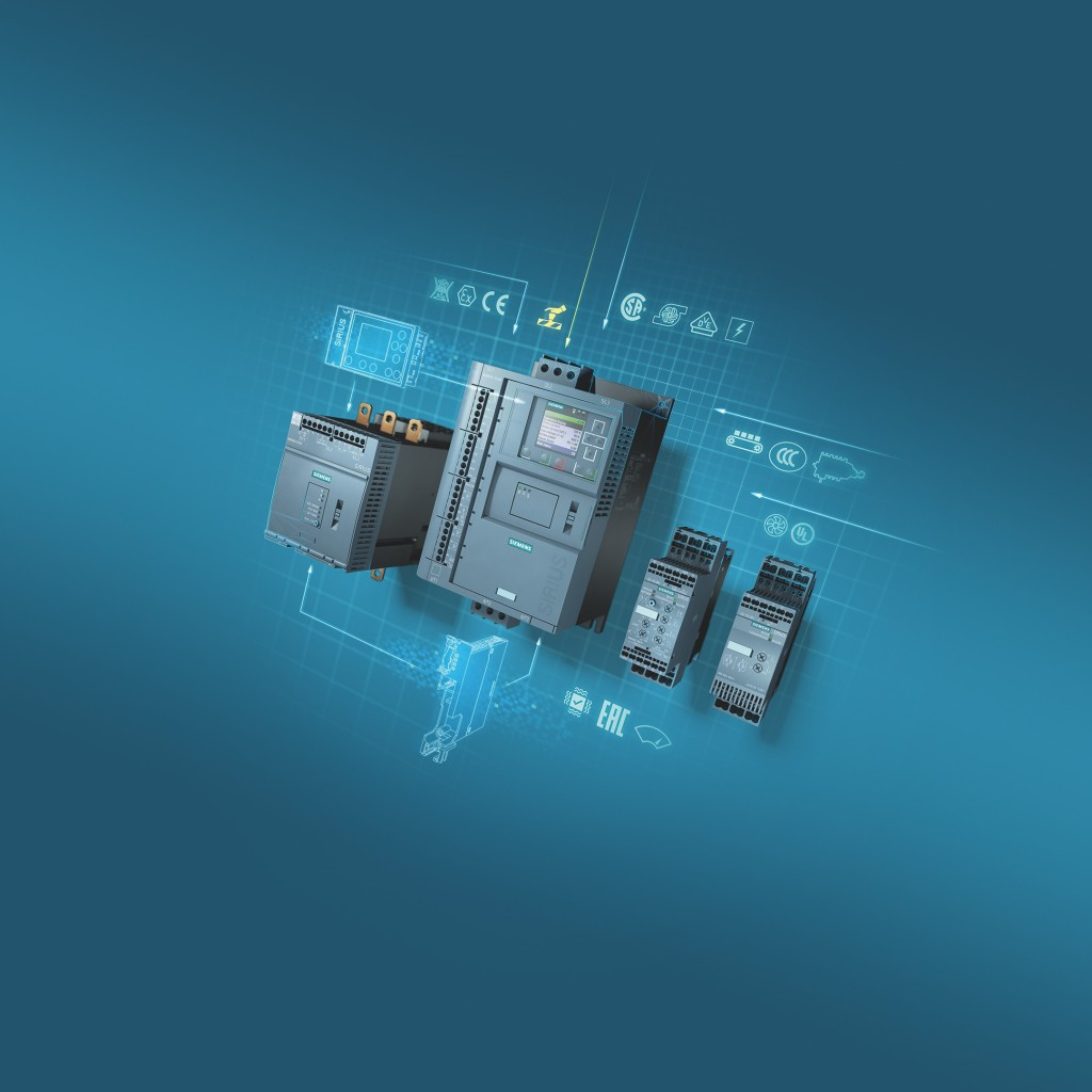 Siemens' new Sirius soft starters enable safe, efficient motor switching